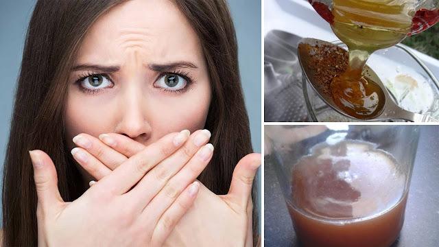 وصفة طبيعية للتخلص من رائحة الفم الكريهة نهائيا (مجربة)