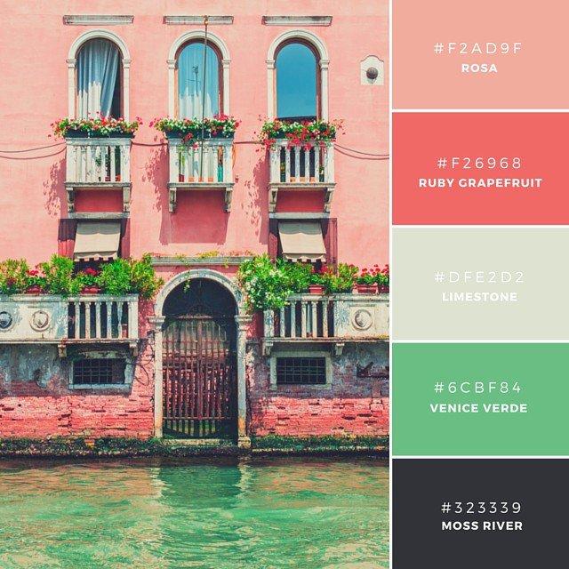 Vẻ đẹp của Venice, in Hồng Hạc