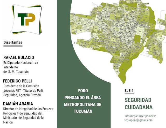 Damián Arabia, funcionario del Ministerio de Seguridad de la Nación disertará el sábado en #Tucumán