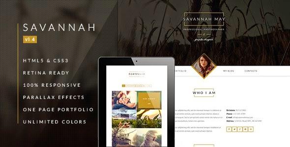 Savannah drupal theme