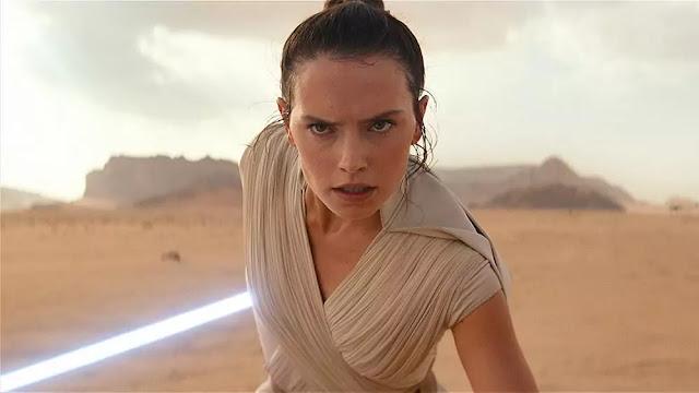 La actriz Daisy Ridley como Rey