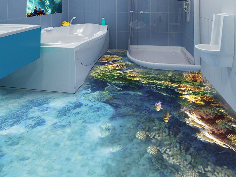 How To Get 3d Epoxy Flooring In Your Bathroom In Detail