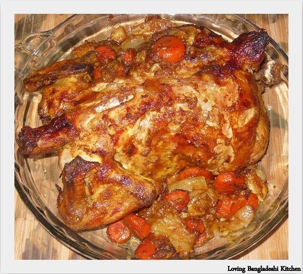Loving Bangladeshi Kitchen(রান্নাঘর): Oven Roasted Whole