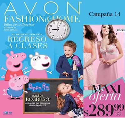 Campaña 14 Avon Moda y Hogar