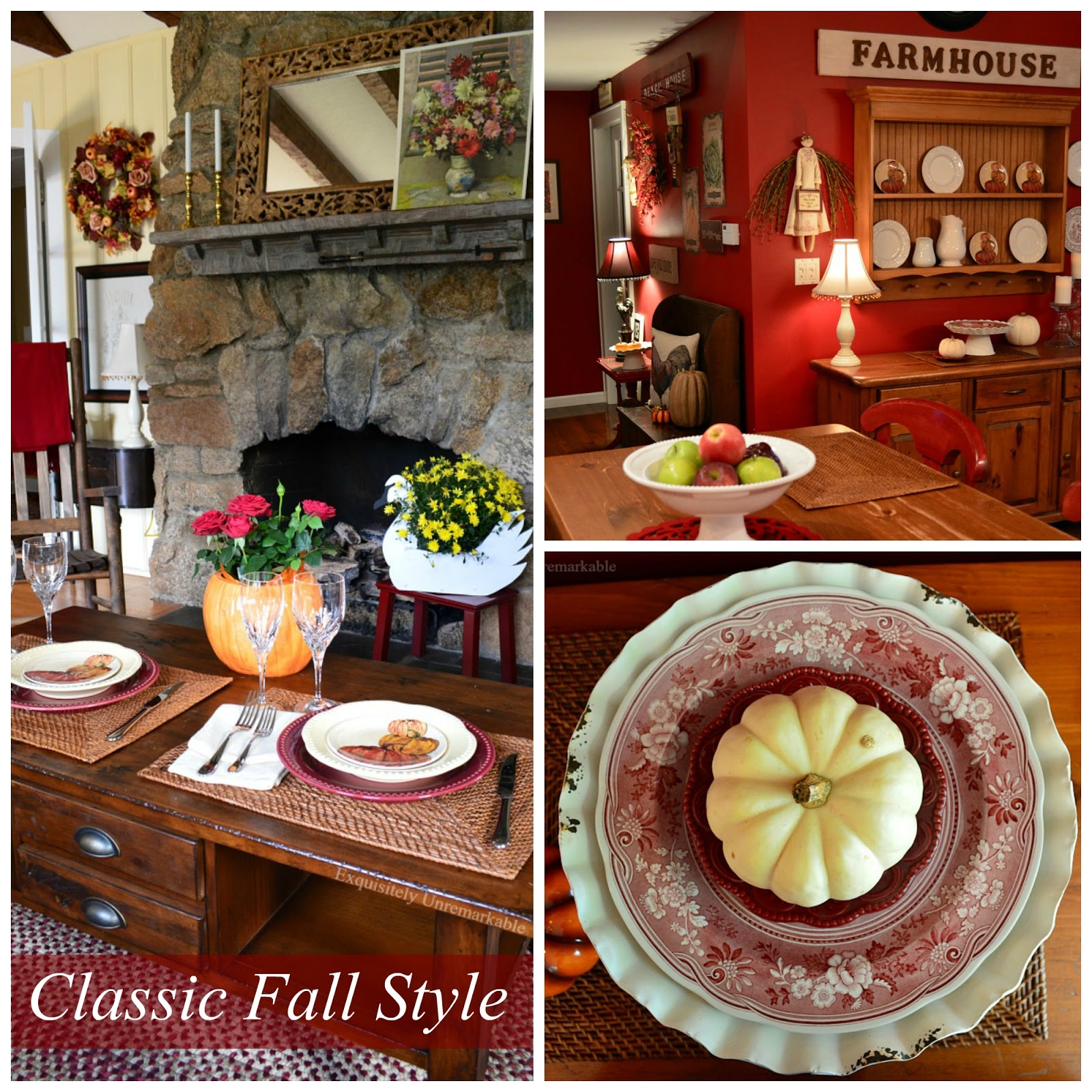 Quick And Easy Fall Decor Tips and Inspiration