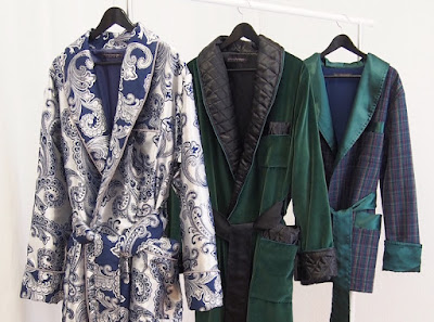 mens long paisley dressing gowns silk smoking jacket robes luxury english victorian style robe men