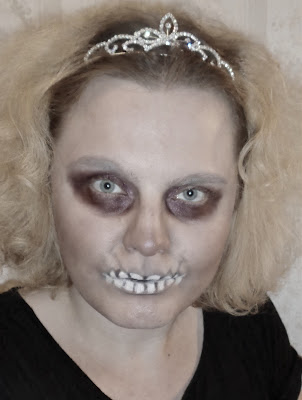 Makijaż na Haloween: QUEEN OF THE DEAD