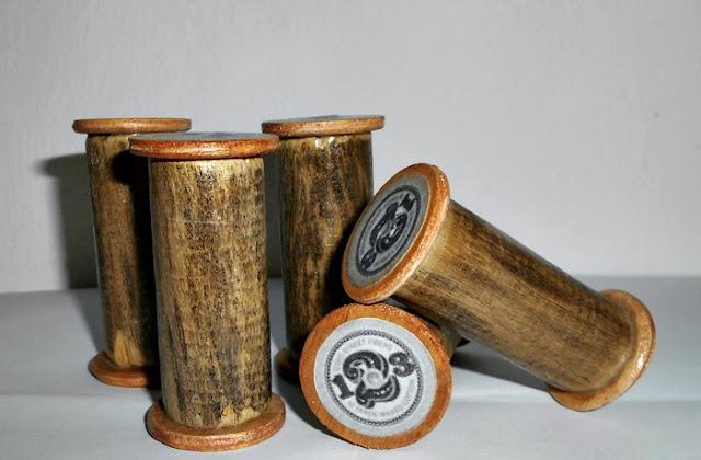 DIY ξύλινες κουβαρίστρες
