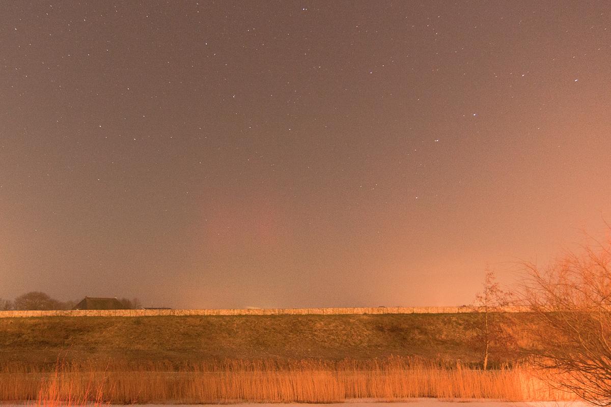 Fotografisch poollicht in Nederland (17 januari 2013)
