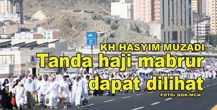 Tanda Haji Mabrur