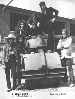 June 1972. The J. Geils Band  German Promo Photo
