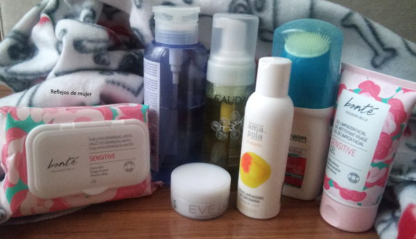 Productos limpiadores para el rostro