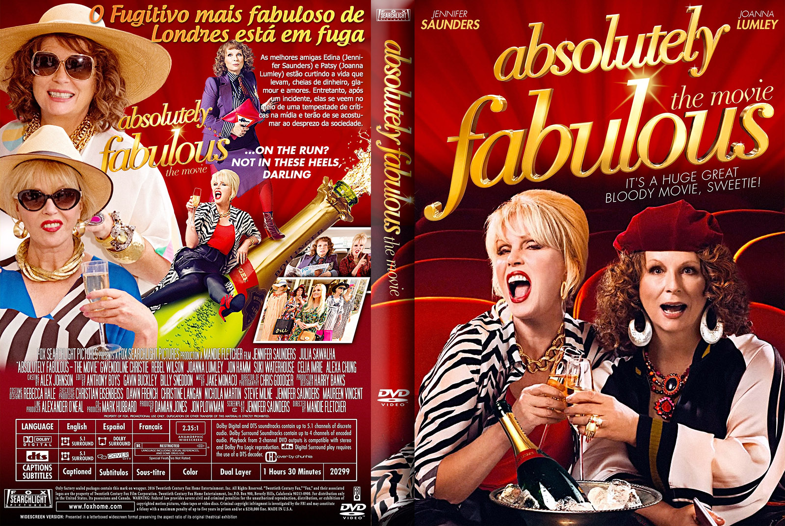 Download Absolutely Fabulous O Filme DVD-R