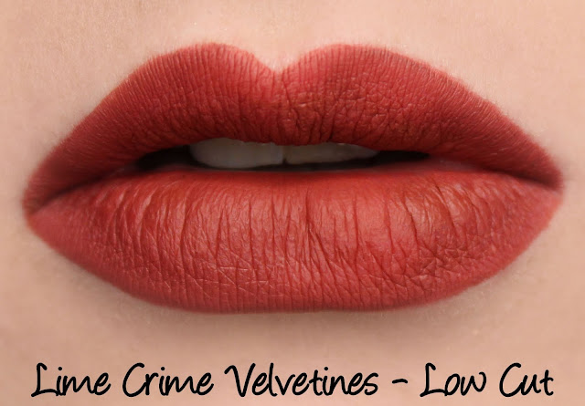 Lime Crime M$LF Velvetines Collection - Low Cut Swatches & Review
