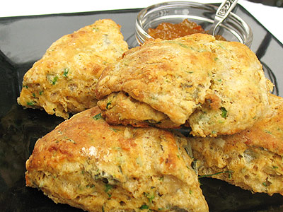 masala  Indian scone