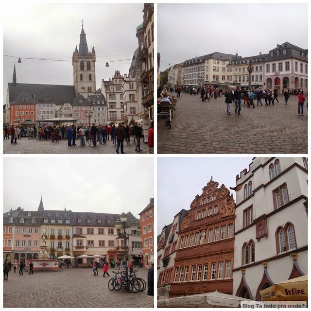 Praça Hauptmarkt, Trier, Alemanha