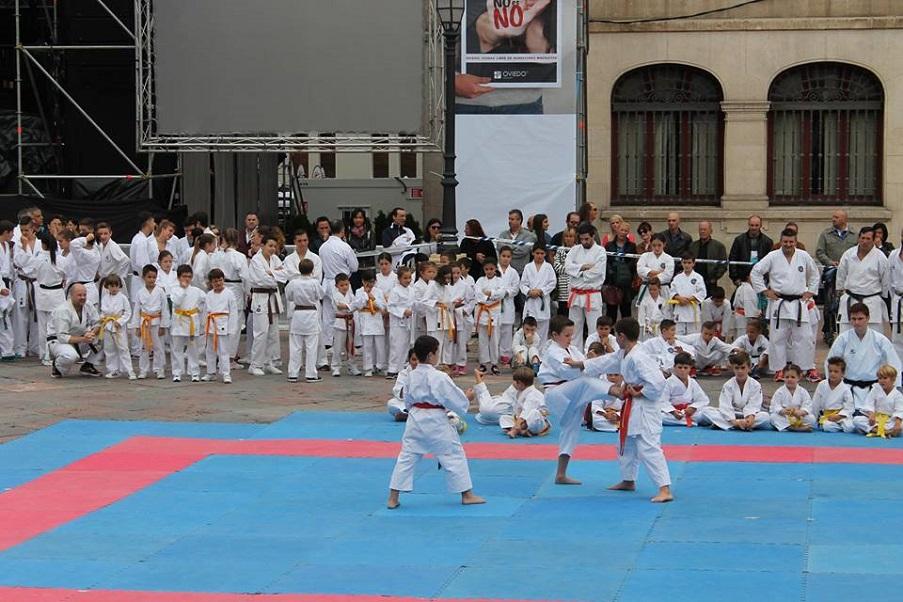 Katas de karate el gimnasio yin yang y el colegio p blico for Gimnasio yin yang