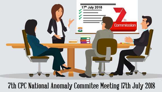 7th CPC National Anomaly Commitee Meeting 17th July 2018