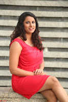 Shravya Reddy in Short Tight Red Dress Spicy Pics ~  Exclusive Pics 063.JPG