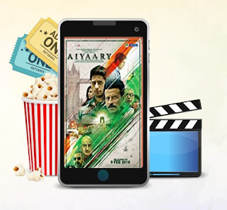 get best deals on booking of aiyaary movie ticket offer discount on bookmyshow justickets newticket