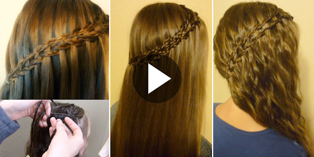Learn - How To Create This Simple And Easy Side Swept Braid Hairstyle, See Tutorial