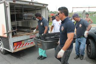 CENAS FORTES - Corpo de homem é encontrado esquartejado dentro de mala em Manaus