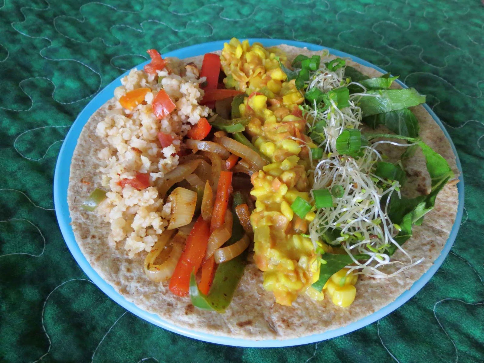rice beans burrito fillings