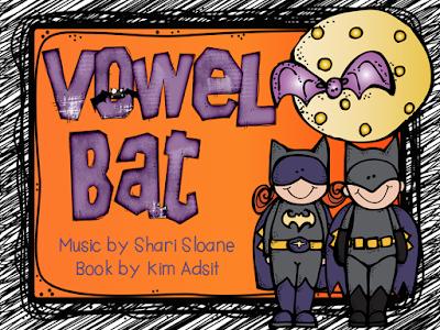 https://www.teacherspayteachers.com/Product/Shari-Sloane-Vowel-Bat-Fun-Music-Book-98791
