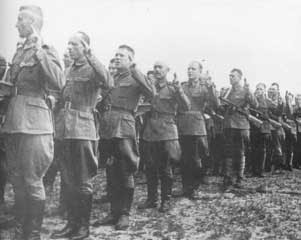 Polish soldiers of the  Soviet-backed 1st Tadeusz Kościuszko Infantry Division-July 28-30 1943