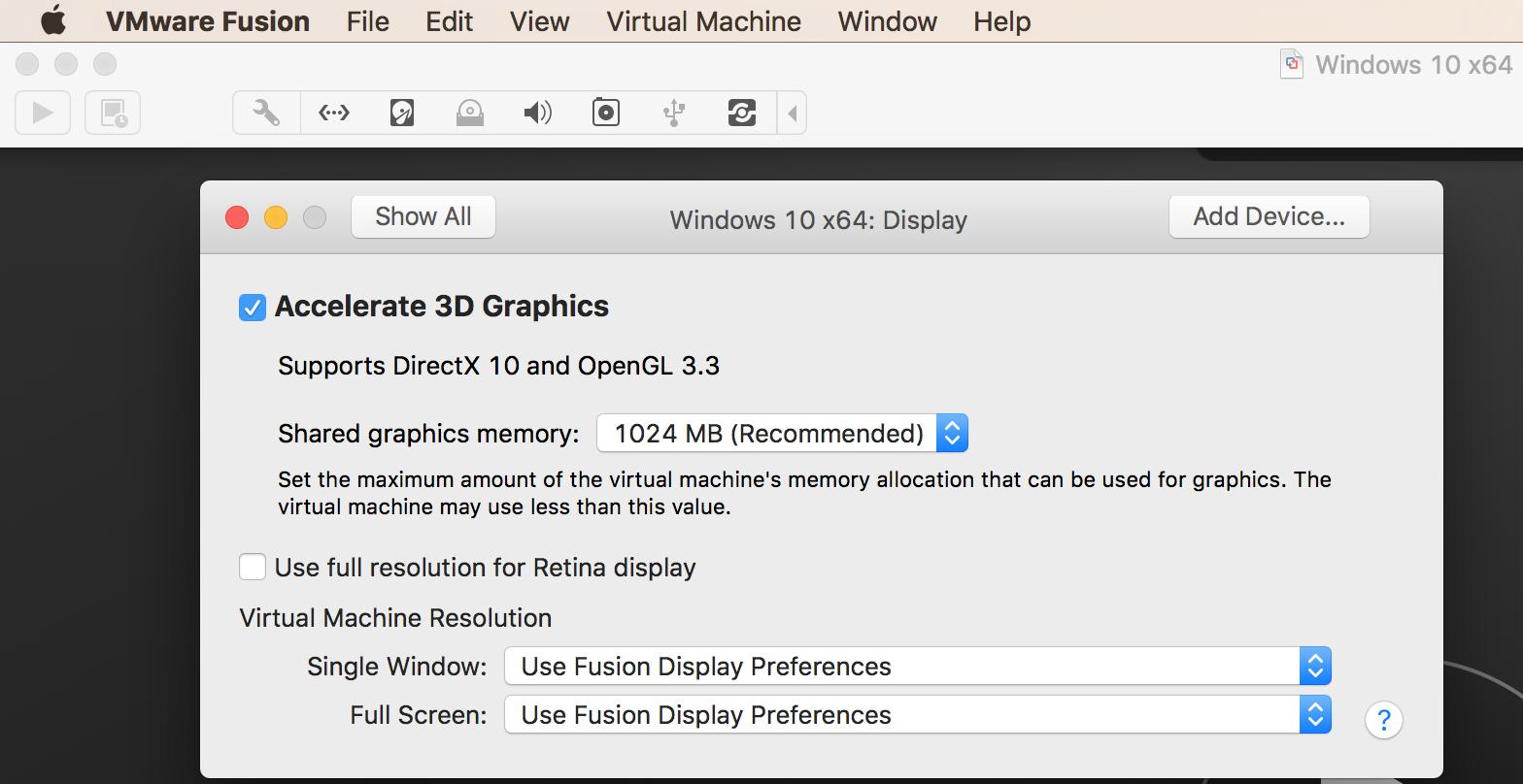 Vmware Display Drivers For Mac