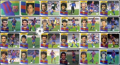 Barcelona Colecciones Este 1991/92