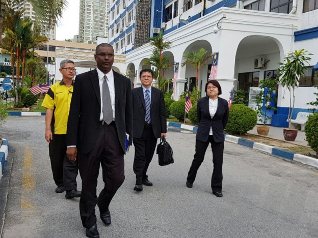 Isu Hina - Jeff Ooi Dibebaskan Dengan Jaminan Polis