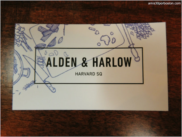 Hoy Brunch: Alden & Harlow en Cambridge