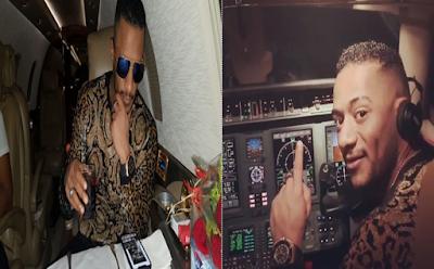 ايقاف الطيار, طائرة محمد رمضان, وزارة الطيران المدنى, انتفاضة برلمانية,