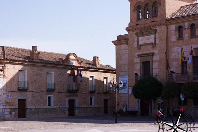 Edificios Plaza de España, Consuegra