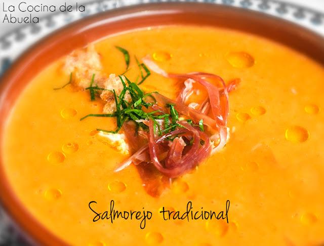 Salmorejo Tradicional, receta típica de Cordoba.