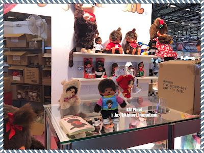 kiki monchhichi toys vintage, japan expo 2018, sekiguchi