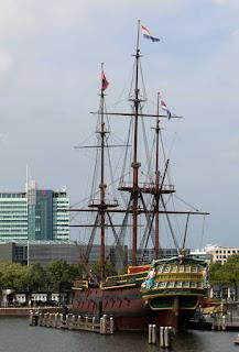 The Dutch tall ship