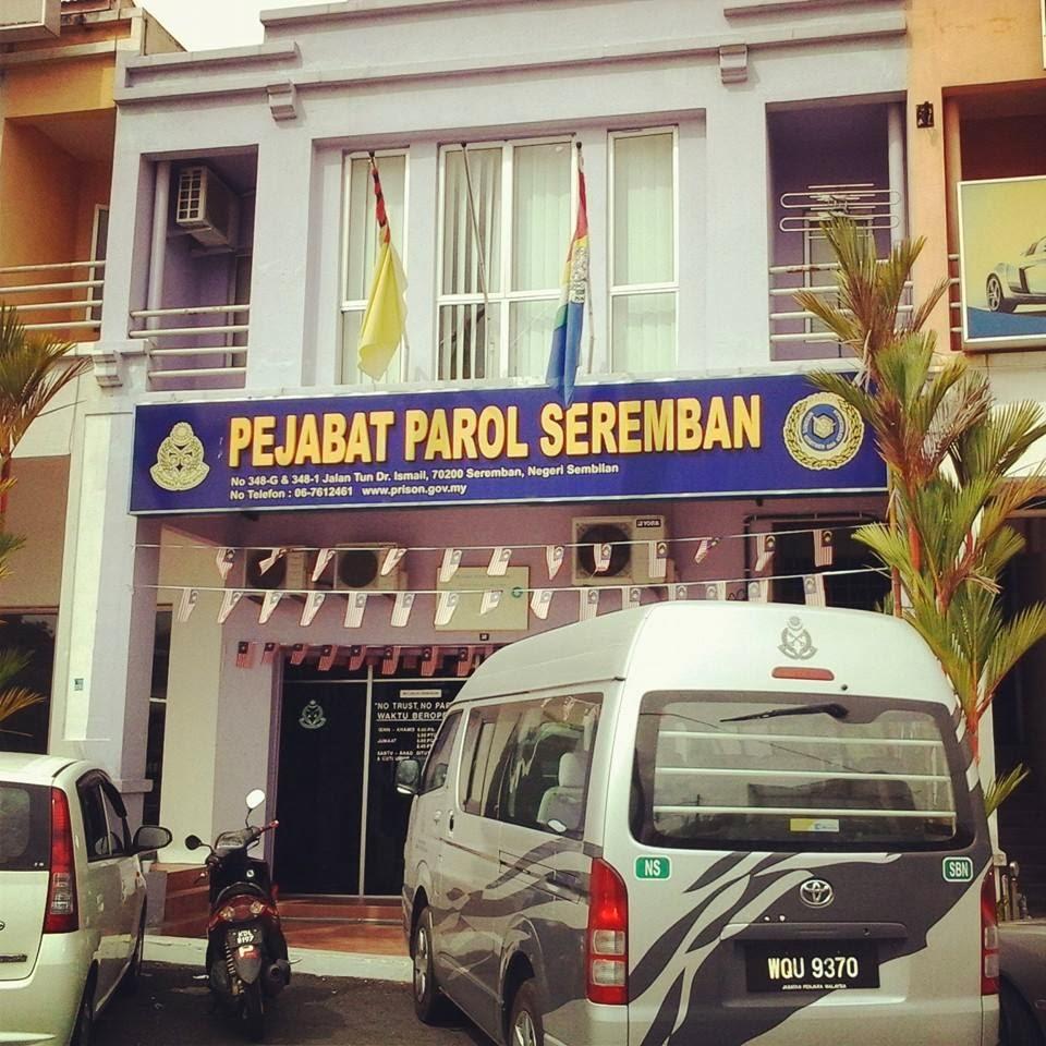 Parol Dan Perkhidmatan Komuniti Seremban, Jabatan Penjara Malaysia
