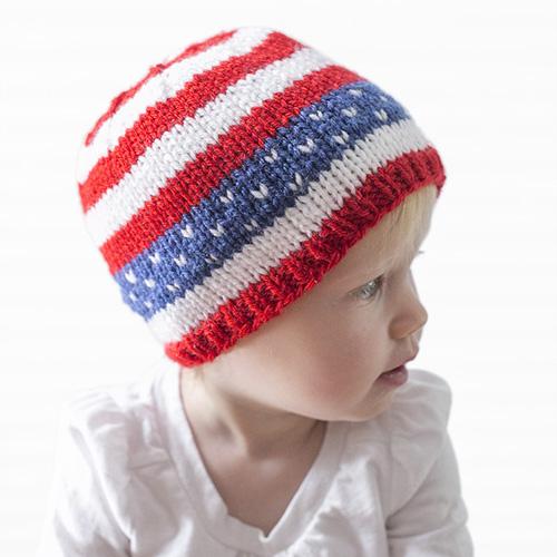 Stars & Stripes Hat - Free Pattern