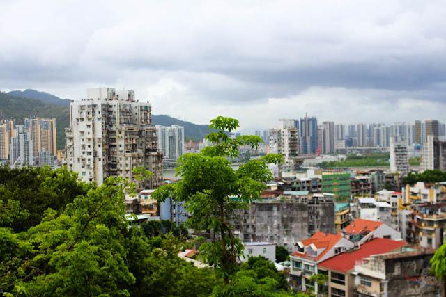 View of Macau from Museu de Macau