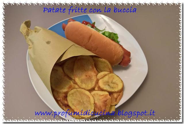 Patate fritte con la buccia da profumi di cucina su akkiapparicette - Modi per cucinare patate ...
