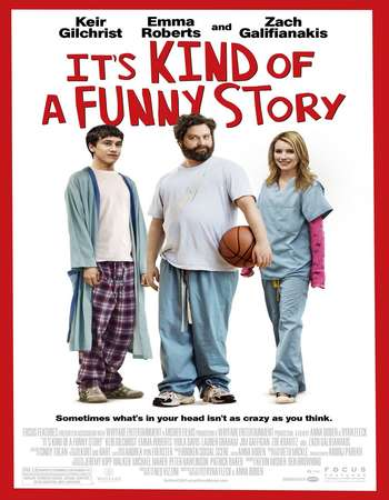 Poster Of It's Kind of a Funny Story 2010 Dual Audio 300MB BRRip 480p ESubs Free Download Watch Online Worldfree4u