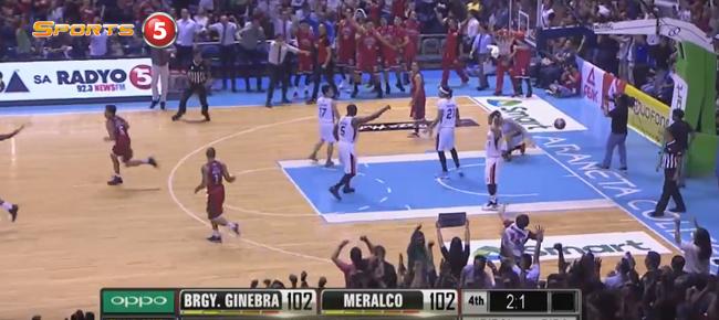 LA Tenorio's Clutch Bucket Forces OT in Game 1 (VIDEO)