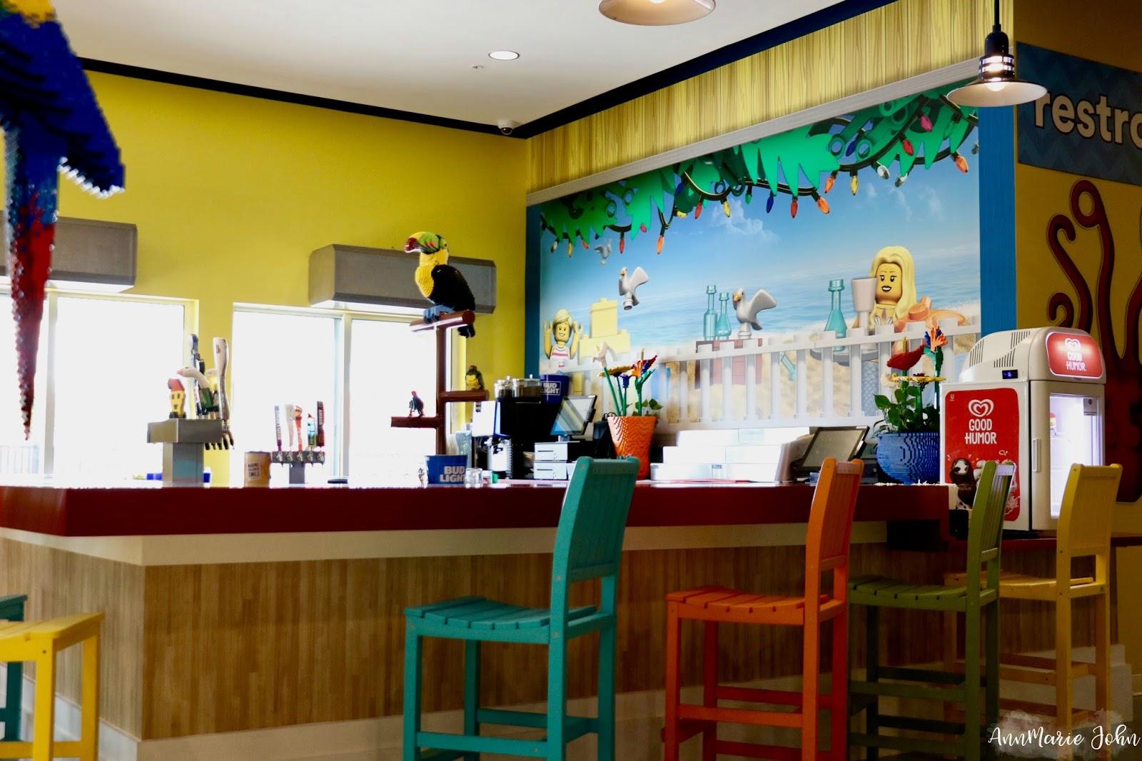 Sandy S Castle Restaurant Legoland