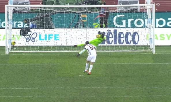 Strakosha catches two penalties, but Lazio loses against Milan