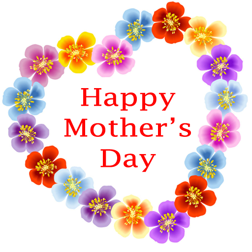 mother's day clip art flowers