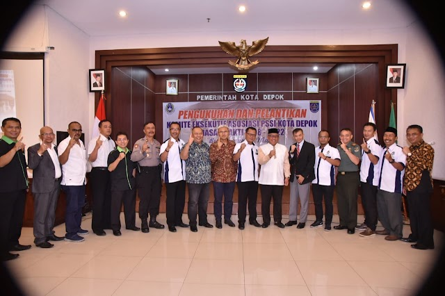 Pengurus Askot PSSI Depok Diminta Berkolaborasi