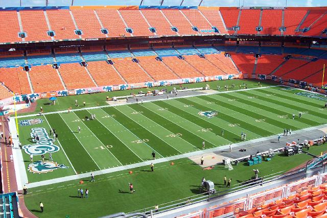 Onde comprar ingressos para jogos do Miami Dolphins e NFL