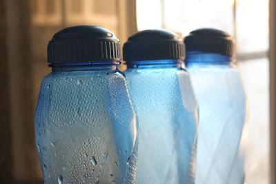 Drinking Water in Plastic Bottles